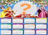 Calendário 2019 Natal das Princesas