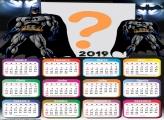 Calendário 2019 Batman