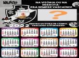 Calendário 2022 Vasco da Gama Futebol Grátis