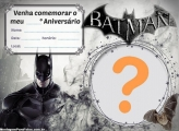 Convite do Batman