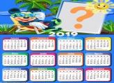 Calendário 2019 Férias Mickey