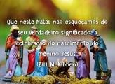 Celebração do nascimento do Menino Jesus