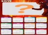 Calendário 2019 Flash