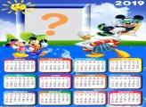Calendário 2019 Diversão Mickey