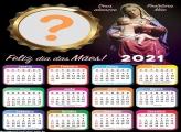 Calendário 2021 Mãe Protetora Colagem de Fotos Grátis