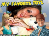 Moldura Barbie e Ken