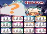 Calendário 2022 Hilda Editar Fotos Montagem
