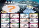 Calendário 2022 Cinderela Montagem Grátis