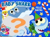 Baby Shark Feliz Natal Montagem de Fotos