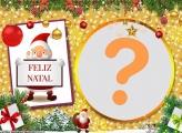 Moldura Feliz Natal PNG