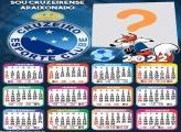 Calendário 2022 Cruzeiro Mascote Online