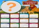 Calendário 2021 A Guarda do Leão