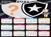 Calendário 2021 do Botafogo Time Foto Montagem