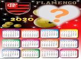 Calendário Online 2020 Flamengo Moldura