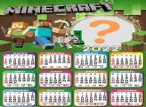 Calendário 2022 Minecraft Criar Online