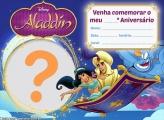 Convite Aladdin