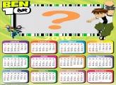 Calendário 2019 Ben 10 do Jogo