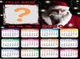 Calendário 2020 Papai Noel Malvado