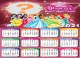 Princesas da Disney com Calendário 2021