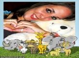 Moldura Turma de Animais