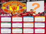 Calendário 2021 Manchester United Time de Futebol