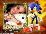 Moldura Sonic para Foto Montagem