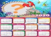 Montagem de Fotos Calendário 2020 Ariel