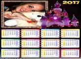 Calendário 2017 Rosa