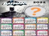 Montagem de Foto Calendário 2022 Batman