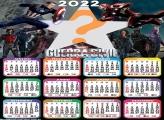 Calendário 2022 Guerra Civil Capitão América