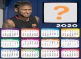 Molduras para Fotos Calendário 2020 Neymar