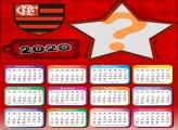 Moldura Calendário 2020 Flamengo