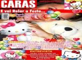 Convite Hello Kitty Revista