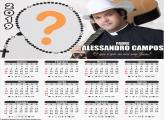 Calendário 2019 Padre Alessandro Campos