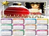 Calendário 2018 Bola Natalina