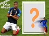 Kylian Mbappé no PSG Moldura Digital