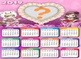 Calendário 2019 Jolie Loira Morena