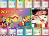 Calendário 2017 Circo Infantil do Patati e Patatá