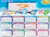 Calendário 2020 Ursinhos Carinhosos Emoldurar Foto
