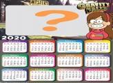 Calendário 2020 Mabel Gravity Falls