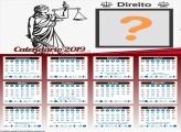 Calendário Direito 2019