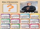 Calendário 2022 São Clemente Editar Online