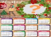 Calendário 2021 para o Papai de Natal