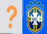 FotoMoldura Escudo CBF Brasil
