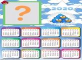 Montar Foto Online Calendário 2020 Angry Birds