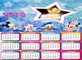 Calendário 2018 Estrela Disney Baby