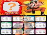 Calendário 2019 do Naruto
