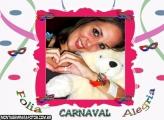 Moldura Carnaval Alegria Folia