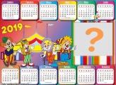 Calendário 2019 Circo Infantil