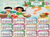 Calendário 2022 Aloha Havaiano Montar Foto